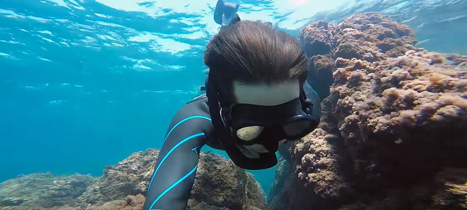 cap dantibes snorkeling