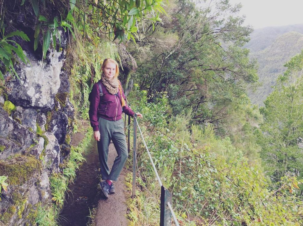 hiking madeira